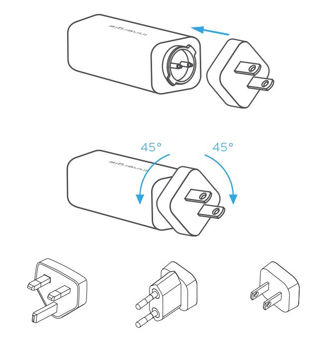 INNERGIE USB C KANNETTAVAN LATURI 60W YLEISMALLINEN, POWER